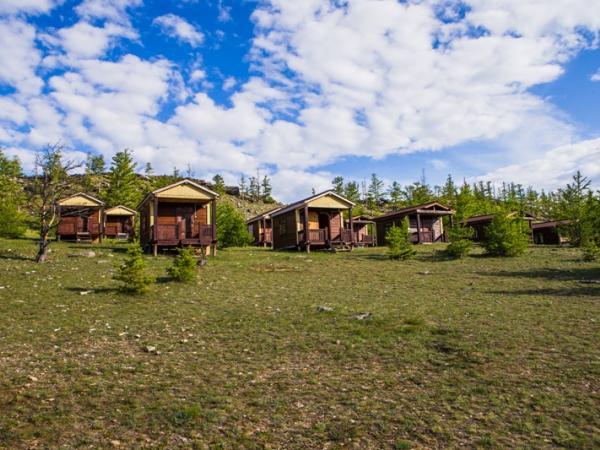 Экодом на базе отдыха Чара на Байкале